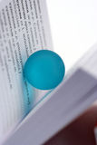 Ball and book Royalty Free Stock Image