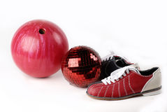Ball in the bowling alley Royalty Free Stock Photography
