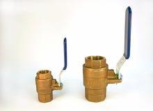 ball brass valves Στοκ Εικόνες