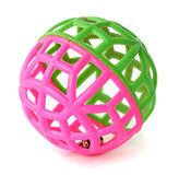 Ball, brightly pink and green color Stock Photos