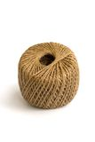 Ball of Brown Twine, Isolated Stock Image