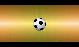 Ball. Business card with the image of football Royalty Free Stock Photography