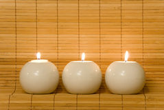 BALL CANDLE Royalty Free Stock Image