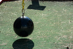 Ball and chain Royalty Free Stock Photography