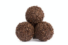 Ball chocolates Royalty Free Stock Image