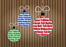 Ball christmas Royalty Free Stock Image
