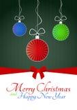 Ball christmas Stock Images