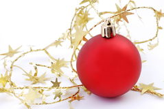 ball christmas Στοκ φωτογραφία με δικαίωμα ελεύθερης χρήσης