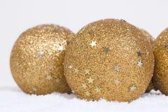 ball christmas snow Стоковые Изображения