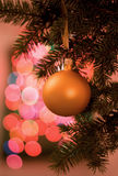 Ball on christmas tree Stock Image
