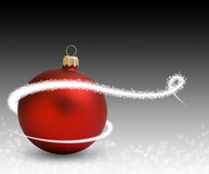 Ball christmass red Royalty Free Stock Photography
