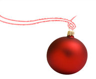 Ball christmass red Stock Image