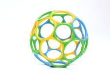 Ball with circles Stock Image