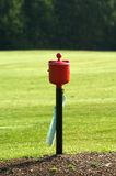 Ball Cleaner. Golf Ball cleaner at a golf course in Ohio Royalty Free Stock Photography