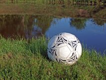 Ball on coast Stock Photography