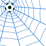 Ball on cobweb Stock Photography