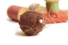 Ball and coils of thread Stock Photos