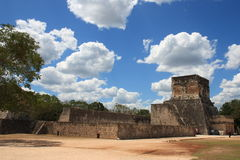 Ball Court, Chichen Itza Stock Image