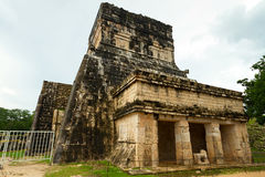Ball Court in Chichen Itza Stock Photography