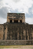 The Ball Court in Chichen Itza. Royalty Free Stock Photos