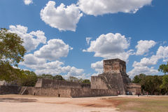Ball Court, Chichen Itza Stock Photos