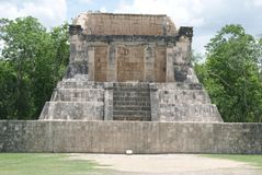 The Ball court in Chichen Itza, Mexico Stock Photo