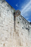 Ball court goal. Juego de Pelota. Chichen Itza Stock Photography