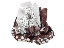 Ball cover of chocolate Royalty Free Stock Images