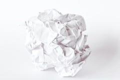 ball crumpled paper Стоковые Фотографии RF