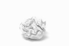 ball crumpled paper Стоковая Фотография RF