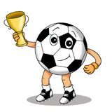 Ball with the cup stock images