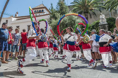 Ball de Cercolets at Festa Major in Sitges, Spain Stock Images