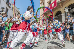 Ball de Cercolets at Festa Major in Sitges, Spain Stock Photography