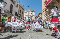 Ball de Gitanes at Festa Major in Sitges, Spain Royalty Free Stock Images
