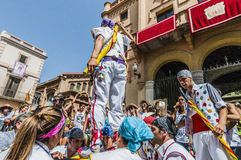 Ball de Pastorets at Festa Major in Sitges, Spain Stock Images