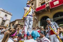 Ball de Pastorets at Festa Major in Sitges, Spain Stock Images
