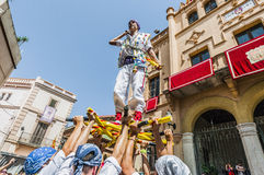 Ball de Pastorets at Festa Major in Sitges, Spain Stock Photo