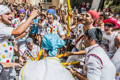 Ball de Pastorets at Festa Major in Sitges, Spain Royalty Free Stock Photo