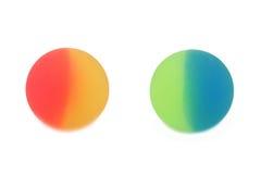 Ball des Gummis zwei Lizenzfreies Stockbild