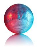 Ball for disco club. On white background Royalty Free Stock Photos
