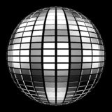 ball disco mirror mirrorball party Στοκ Φωτογραφίες