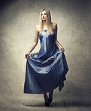 Ball dress Stock Photography