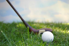 Ball and driver stock photo