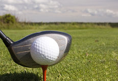 Ball and Driver Stock Photos