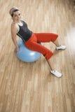 Ball exercises Stock Image