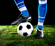 Ball with feet Stock Photos