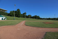 Ball Field and Grandstand Stock Photos