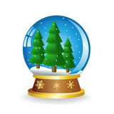 Ball with fir Stock Images