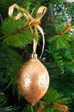 Ball on fir Royalty Free Stock Photos