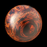 Ball of fire Royalty Free Stock Photo